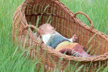 ¿Qué es un moisés para bebé?
