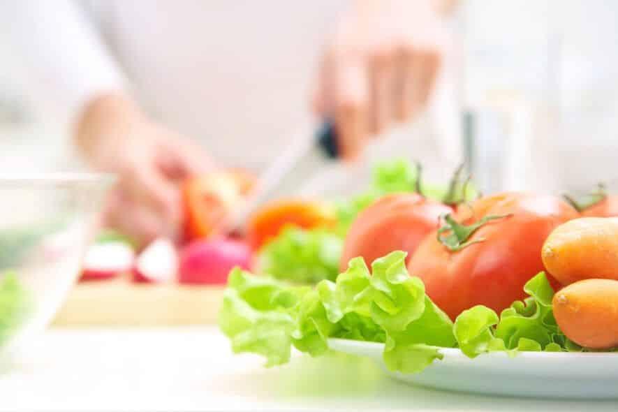ser vegano o vegetariano con lactancia: frutas y verduras