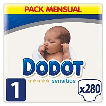 Pañales online Dodot (packs mensuales)