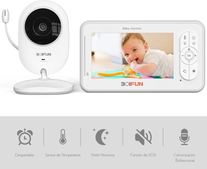 BOIFUN Bebé Monitor Inteligente