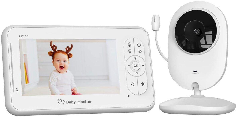 Vigilabebés con Cámara, COOAU Bebé Monitor