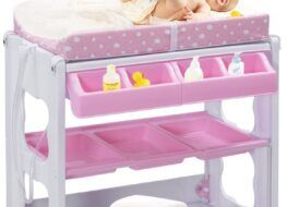 Las mejores bañeras cambiador para bebés
