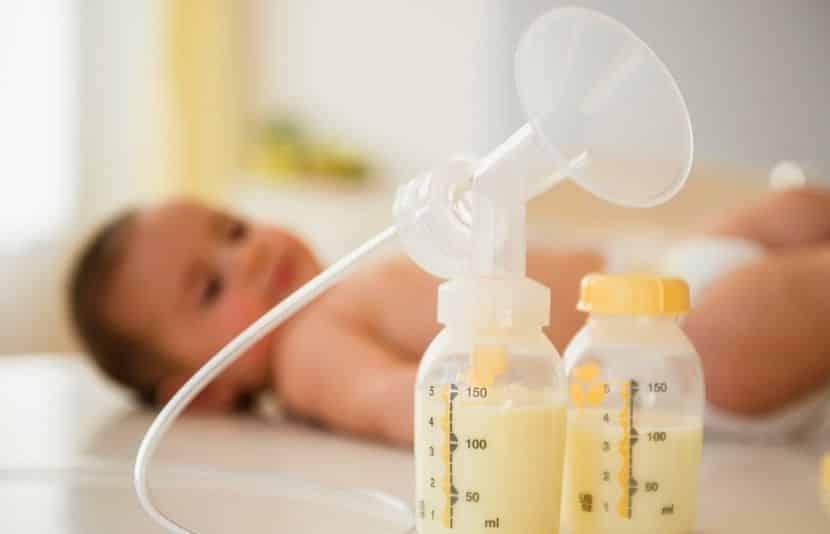 Almacenamiento seguro de la leche materna extraída