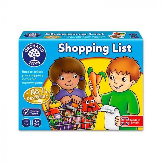 Shopping list (en inglés)