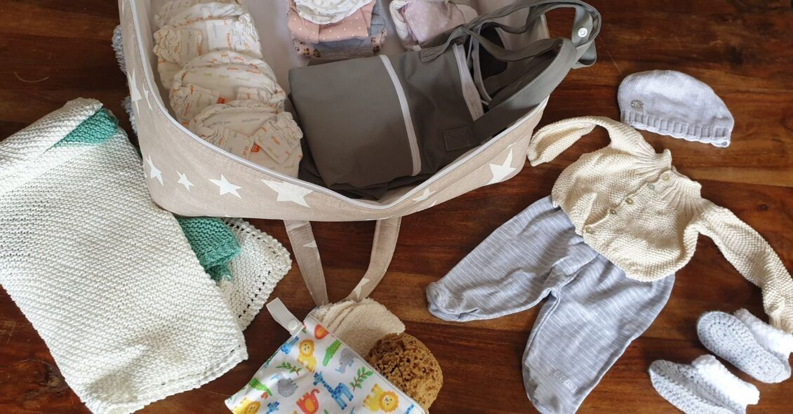 Lista completa de la maleta de hospital para el bebé