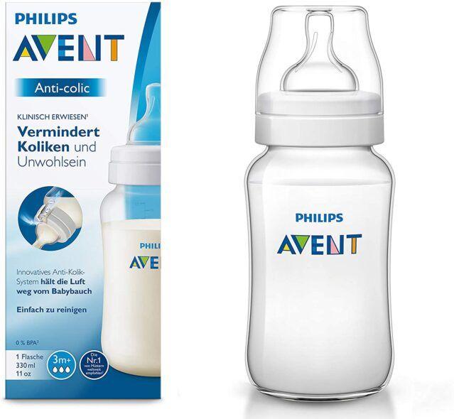 Philips Avent biberón anticólicos de 330 ml, transparente