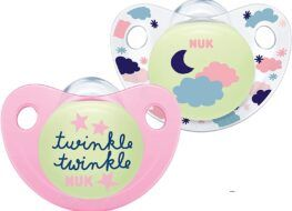 Mejores chupetes para bebés, Nuk Trendline Night & Day
