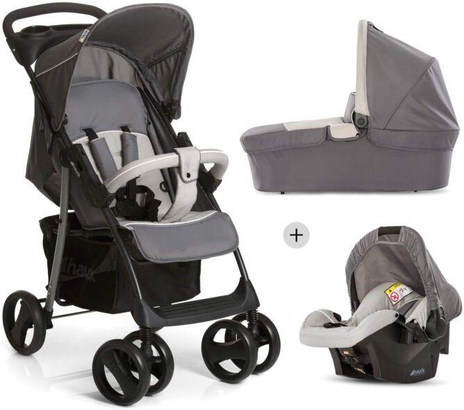 Carrito de bebé 3 en uno Hauck Shopper grupo 0+