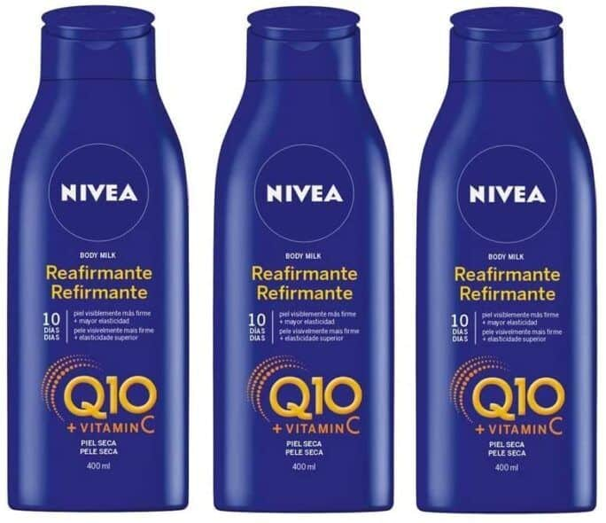 NIVEA Q10 Body Milk Reafirmante